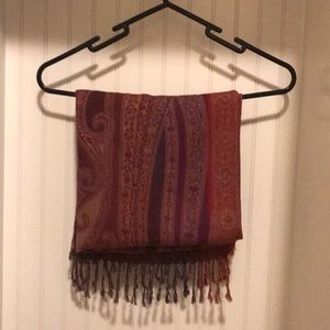 Maroon red Scarf